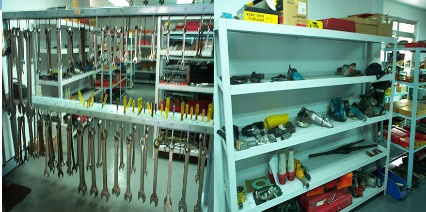 Tools storage safety