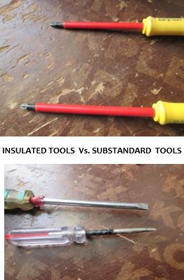 insulated vs substandard tools